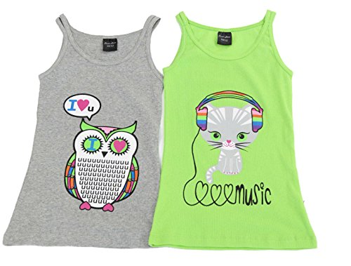 14503-Z-4-5 Just Love Tank Tops for Girls (Pack of (Toddler Girls Ribbed Tank Top)