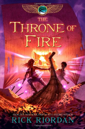 The Throne of Fire (The Kane Chronicles, Book 2)