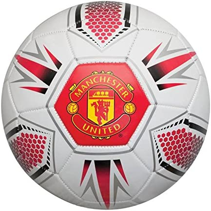 New Man United Official Red Football Manu Club Balls Team Supporters Soccer Ball Amazon Co Uk Sports Outdoors