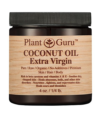 """Price comparison product image Coconut Oil """"Extra Virgin"""" Body Butter 4 oz. 100% Pure Raw Fresh Natural Cold Pressed. Skin,  Hair,  Nail Moisturizer,  DIY Creams,  Balms,  Lotions,  Soaps."""