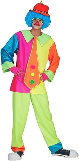 Con formad de payaso Darryl disfraz de para Hombre - divertido ...