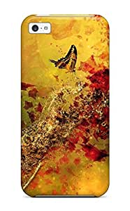 Cute Appearance Cover/tpu GZAwFuJ1573mtzeX Illusion Artistic Abstract Artistic Case For Iphone 5c