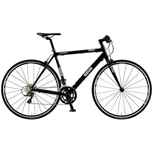 GIOS(ジオス) クロスバイク CANTARE CLARIS BLACK 530mm B076BH79MY