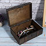Cimenn Wooden Storage Box -- Decorative Treasure