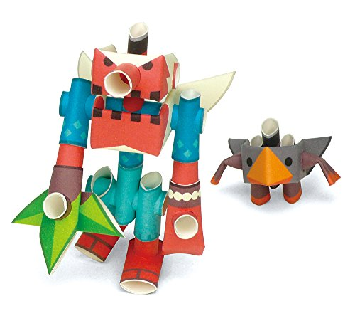 PIPEROID Tengking & Tsubuten Paper Craft Robot kit from Japan - Goblin & His Apprentice (Old Package) ()