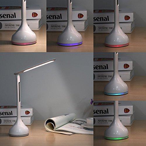 Lampe 3 Table Deckey Led Luminosité De Bureau 4w Niveaux IbfvYgym76