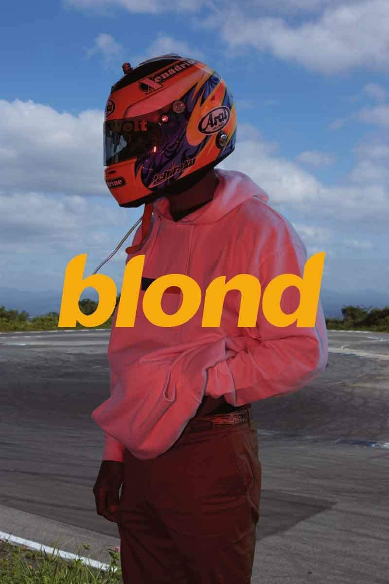 24 x 36 inches Hip Hop Poster Frank Ocean Blond