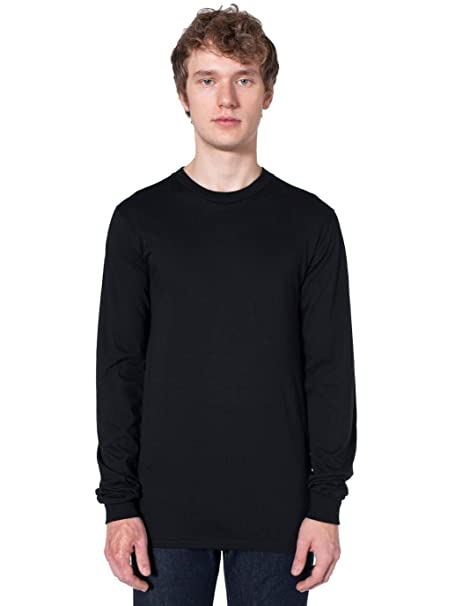 Image Unavailable. Image not available for. Color  American Apparel Men s  Organic Fine Jersey Long Sleeve T ... b1fe8d072d54