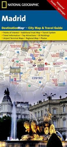 Madrid (National Geographic Destination City Map)