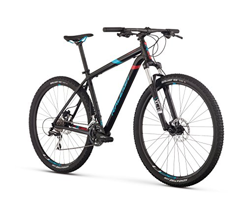 Raleigh Bikes Tekoa Mountain Bike, Black, 17'/Medium