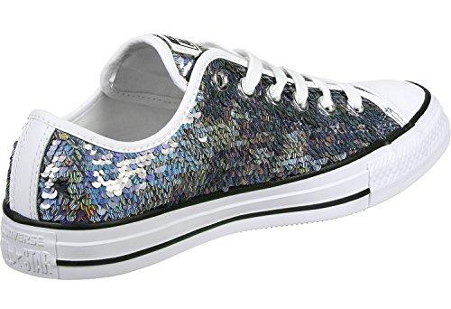 Converse All Star Ox Mujer Zapatillas Metálico Metallisch