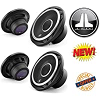 JL Audio C2-570x 5x7 2-way Car Audio Speakers (1Pair) W/ Pair of Brand New Jl Audio C2-525x 5 1/4 2 Way Speakers with Silk Dome Tweeters