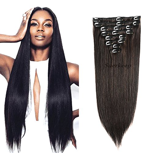 8a brazilian virgin clip hair