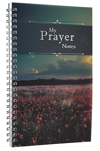 My Prayer Notes: Printed PVC Cover Wirebound 52 Week Notebook -
