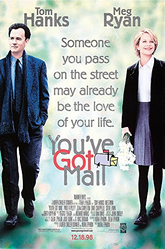 Posters USA - Tom Hanks Meg Ryan You've Got Mail Movie Poster GLOSSY FINISH - FIL166 (24