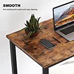 Computer Desk, APOWE Industrial Writing Desk, Home Office Desk, PC Laptop Study Workstation for Home Office, Living Room…