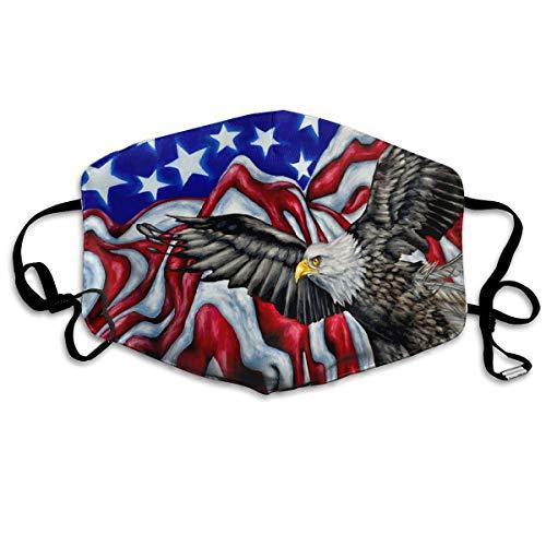 Rainbow Flag Tunic Adult Unisex Costumes - Eagle USA Flag Unisex Fashion Mouth