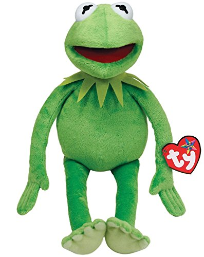 Kermit The Frog Muppets (Ty Beanie Buddies Muppets Kermit Frog Plush, Medium)