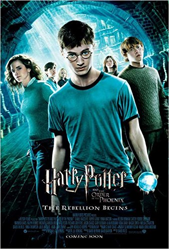 Harry Potter and the Order of the Phoenix 11 x 17 Movie Post