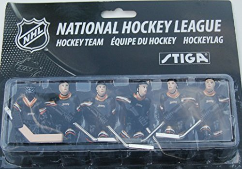 STIGA NHL Anaheim Ducks Table Top Hockey Game Players Team Pack