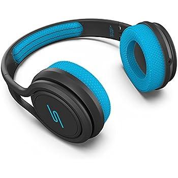 SMS Audio SMS-ONWD-SPRT-BLU STREET by 50 On-Ear Wired Sport Headphones - Blue