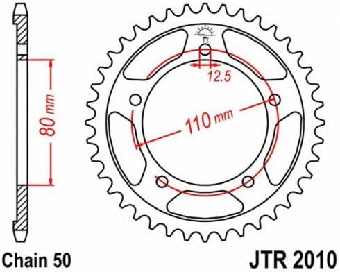JT Sprockets JTR2010.44 44T Steel Rear Sprocket