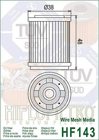 Hiflo Yamaha XT225 Serow 92 93 94 95 96 97 98 99 00 Oil Filter Genuine OE Quality HF143