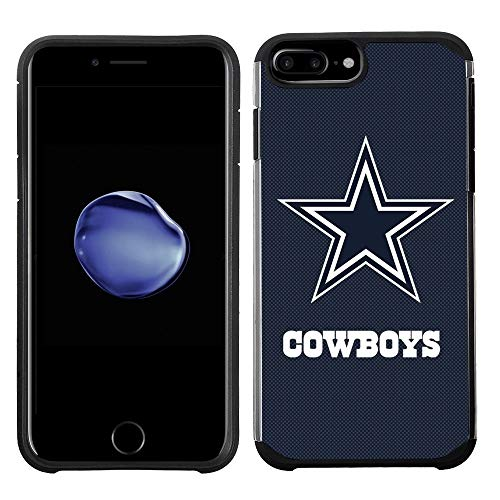 (Prime Brands Group Cell Phone Case for Apple iPhone 8 Plus/iPhone 7 Plus/iPhone 6S Plus/iPhone 6 Plus - NFL Licensed Dallas Cowboys Textured Solid)