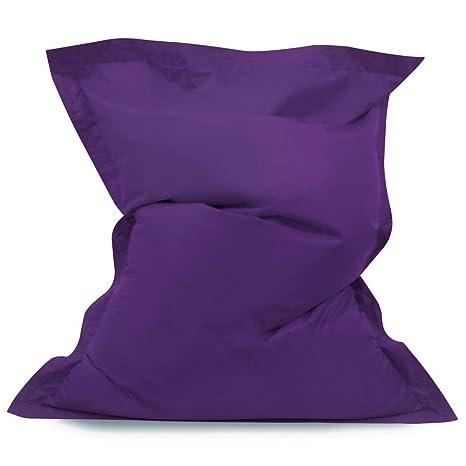 Peachy Bean Bag Bazaar Kids Big Bag Purple Extra Large 120Cm X 100Cm Indoor Outdoor Water Resistant Giant Floor Cushion Beanbag Lounger Unemploymentrelief Wooden Chair Designs For Living Room Unemploymentrelieforg