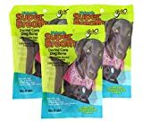 Fido Dental Care Belly Bones for Dogs, Made with Kelp, Parsley and Chlorophyll – Naturally Freshens Breath, Reduces Plaque and Whitens Teeth – 4 Large Treats Per Pack, Pack of 3 For Sale
