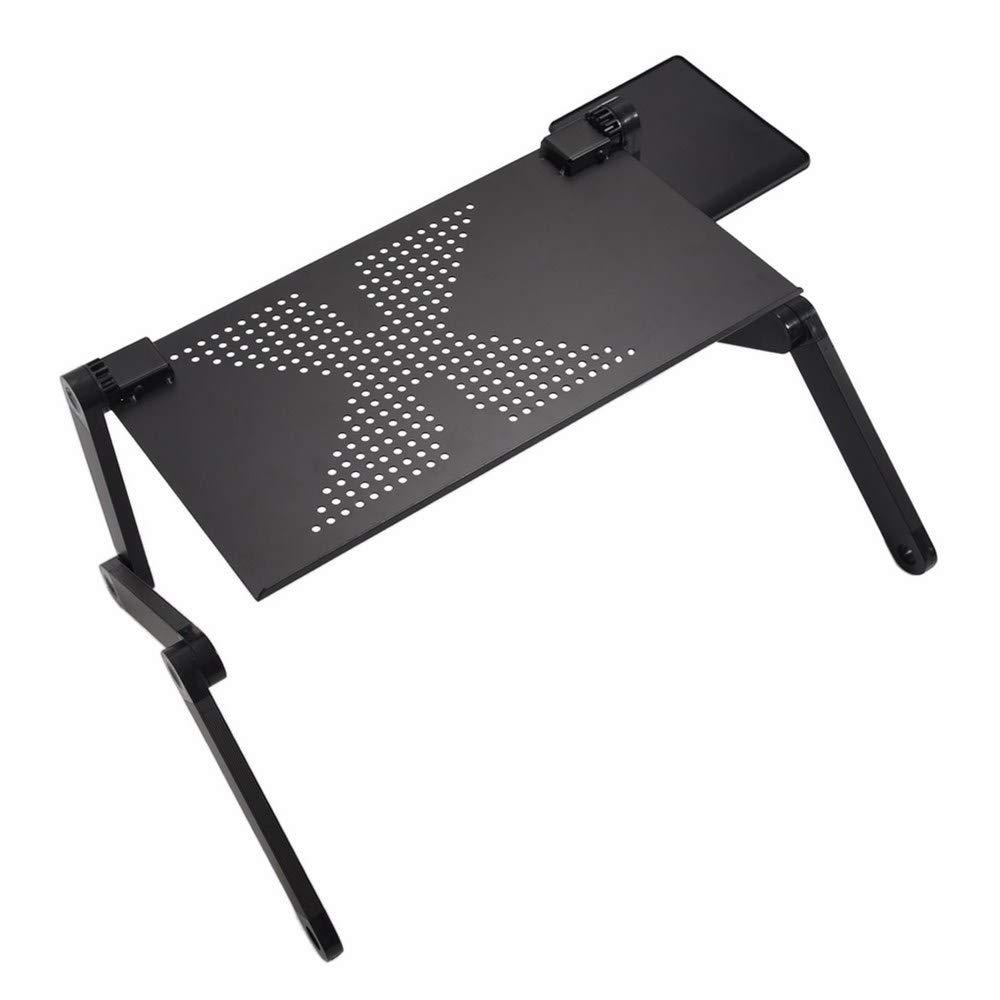 BananaShop99 - Computer Desk Portable Adjustable Foldable Laptop Notebook Lap