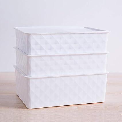 Axiba Cajas de almacenaje Caja de Almacenamiento de Ropa Interior a Prueba de Polvo Acabado Cuadro