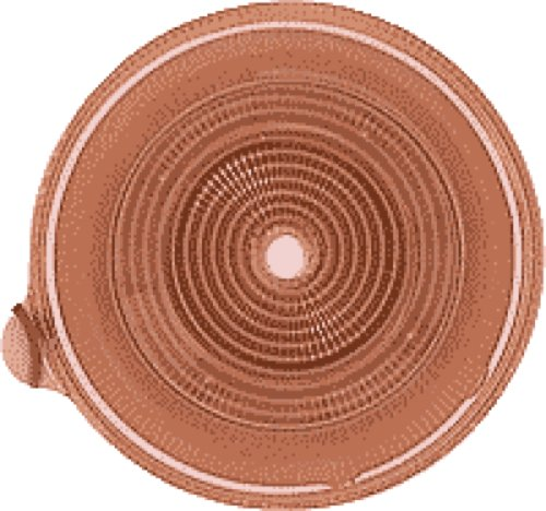Stoma Medium Coupling (Coloplast Assura AC Easiflex Two-Piece Cut-to-fit Nonconvex Flat Standard Wear Skin Barrier with Flange and Belt Tabs 3/8