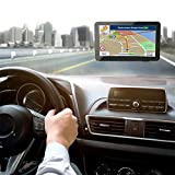 xiaokkiss GPS Navigator 7-inch High-Definition Capacitive Display GPS Satellite Navigation Global Updated Maps