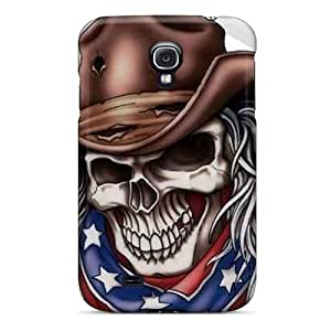 Hot Tpye Rebel Skull Cases Covers For Galaxy S4