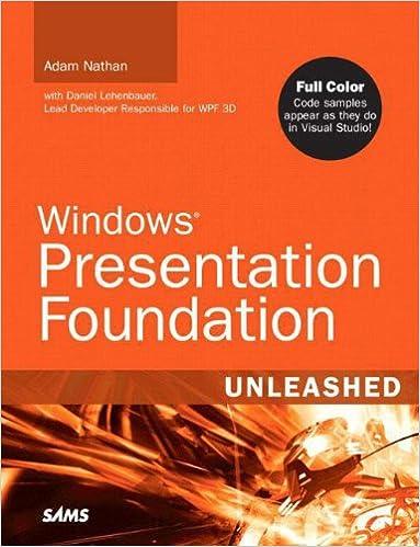Windows Presentation Foundation Unleashed (WPF): Adam Nathan