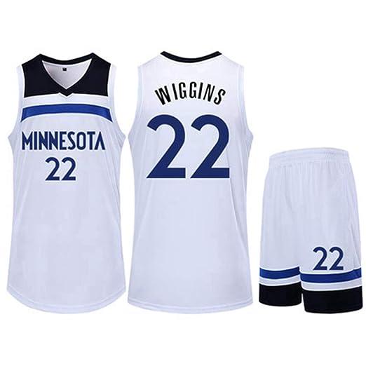 22 # Andrew Wiggins Conjunto De Camiseta De Baloncesto De La NBA ...