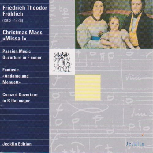 Friedrich 100% quality warranty! Theodor Frohlich : Christmas Mass ; Passion Ranking TOP2 Music