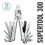 Leatherman - Super Tool 300 Multitool, Stainless Steel with Leather Sheath