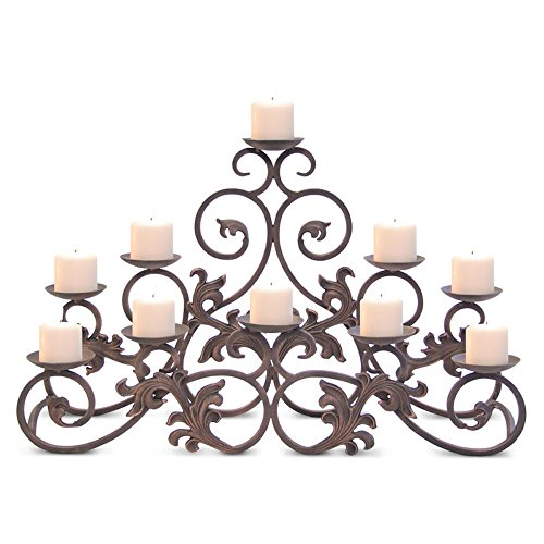 candle holders fireplace - 7