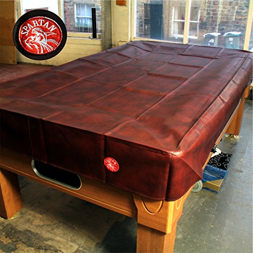 Spartan Heavy Duty wasserabweisend 9 ft American Pool Table Cover - 9 ft Burgund