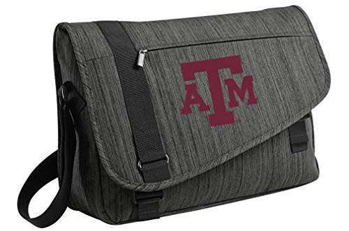 DELUXE Texas A&M Laptop Bag Texas A&M Aggies Messenger Bags by Broad Bay