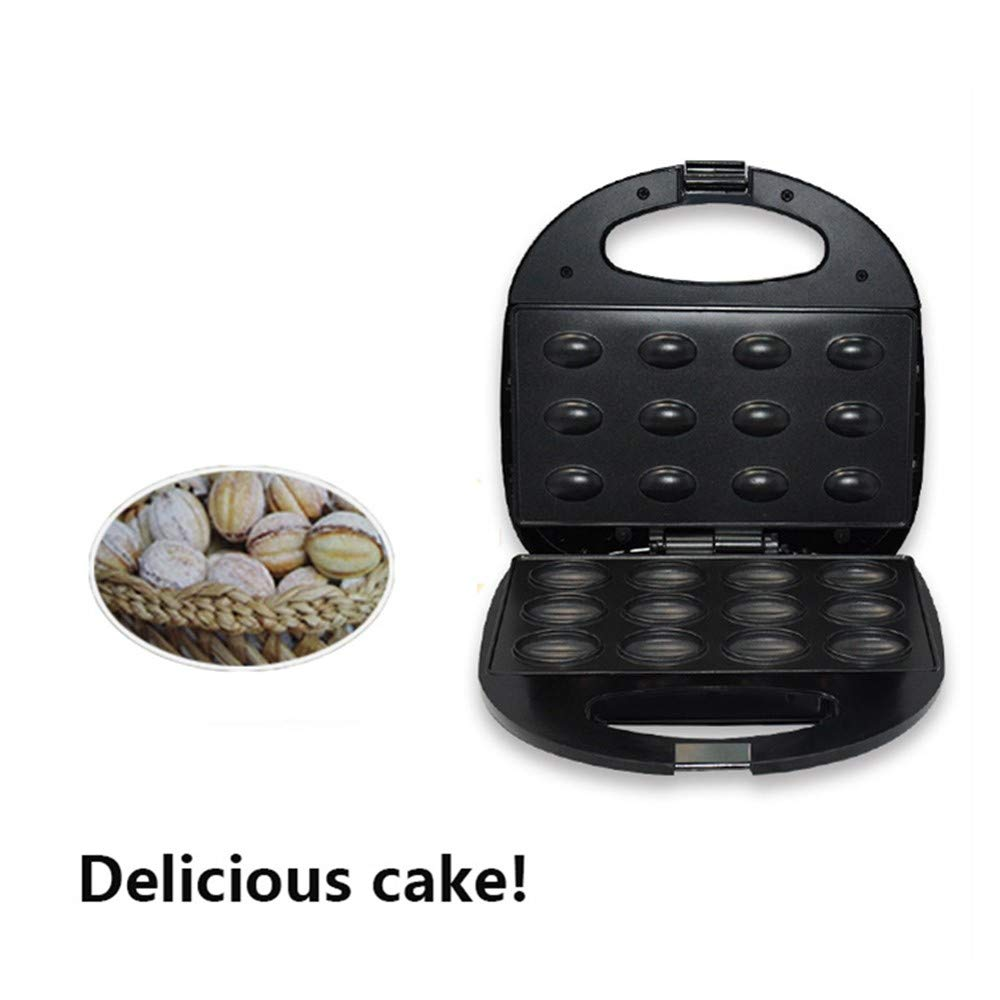 HXZ Cake Maker, Mini Cupcake Machine, Fantastic Dessert Maker 750W, Up to 12 Pop Cakes, Non-Stick Coating, Double Face Heating, 5 Minutes Fast Cake by HXZ
