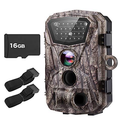 BOBLOV Trail Camera H883 18MP HD 1080P Hunting Camera Wildlife Monitor...
