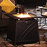 BALI OUTDOORS Gas Fire Pit Table, 28 inch 50,000