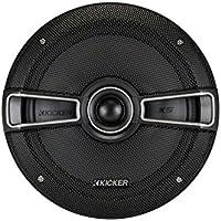 Kicker 41KSC674 6-3/4 2-Way Coaxial Speaker - Pair (Black)