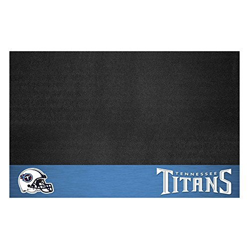 Tennessee Titans Mat (FANMATS NFL Tennessee Titans Vinyl Grill Mat)