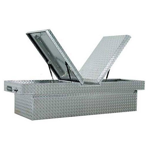 Buyers Products 1710318 Toolbox (Aluminum, Cross, Gull-WNG 23X27X71)
