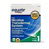 Equate - Step 1, Nicotine Transdermal System, Stop