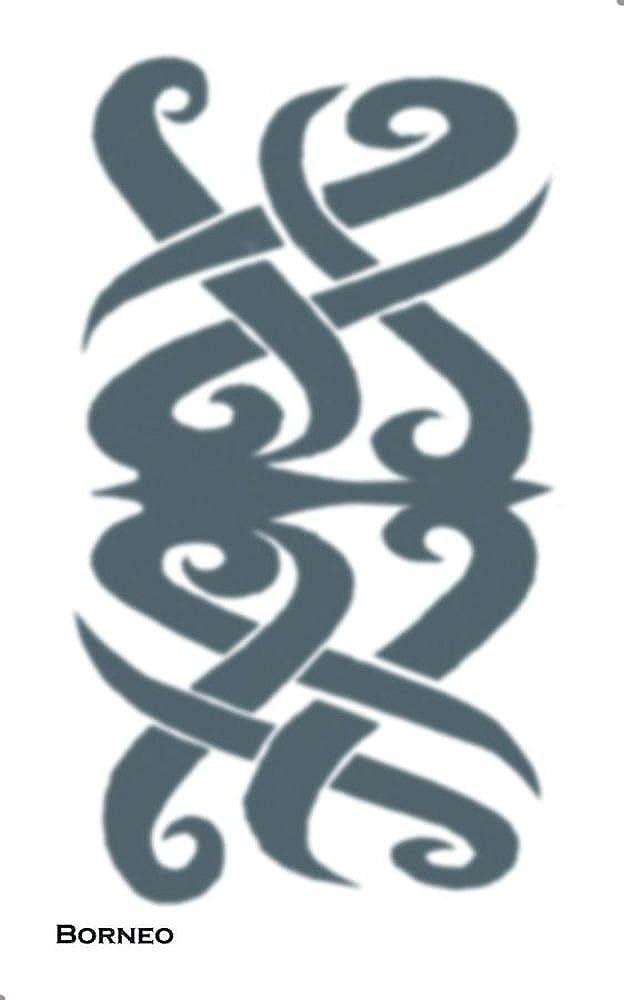 Tinsley Transfers Tattoo Tribal Borneo